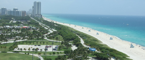 Miami Beach View from Bal One Resort